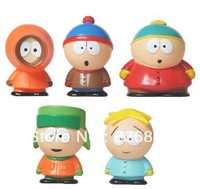 SOUTH PARK Series 1 CARTMAN KENNY 5 pcs Set Mini Figure LOOSE