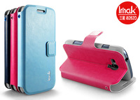 3 Color IMAK Samsung i8262D GALAXY Dous Tin Yat holster (R64 grain) Slim can stand, High quality, free shipping