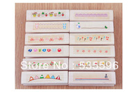 Free Shipping / Newest vintage lace doll designs series DIY long wood stamp /Diary stamp 12 designs