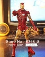 Marvel THE AVENGERS IRON MAN MARK VI 20cm PVC Figure New In Box