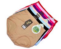 Hot-selling Women's Bamboo Fiber Panties High Waist Seamless Comfortable Briefs 10pcs/lot Femal Underwear