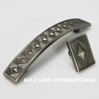 L36xW26xH25mm Free shipping zinc alloy bedside cupboard Furniture Drawer knob