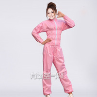 Weight loss service - weight loss service slimming pants slimming clothes sauna service sauna suit pink slim