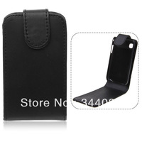 Artificial Leather Vertical Flip Pouch Cover Case for Samsung Galaxy Y S5360 Gallery Free shipping