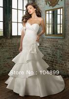 Hot sale wedding  Dress  Style 1212 Silk Shantung mermaid