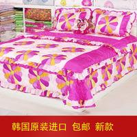 Satin bedding silk 2013 piece set home textile