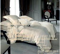 Silk suite double faced mulberry silk piece bedding set silk bedding 16.5 meters