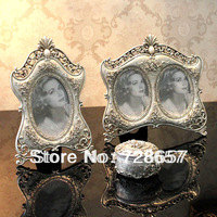 Royal and Palace Style Retro Fashion Craft Decoration of Resin Photo Frame for Photos and Pictures Holding and Room Decorating