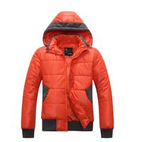 Winter Casual Women's Top Sports Thickening Cotton-padded Jacket With A Hood Thermal Casual Wadded Jacket Outerwear