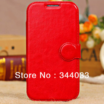 Commercial Style Leather Wallet Pouch Flip Cover Case Universal for Apple iPhone 5C/Ohter Cell Phones - 5 Colors Can be Chosen