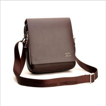 2013 hot sale fashion men shoulder bag classic men leather messenger bag business bag