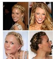 New 2014 Fashion Women's Wig Headband Hair Clip Hair Belt Girls Tiaras Sexy Hair Accessories For Woman Vintage Lace Headband