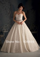 wedding  Dress Style 5167 Poetic Lace  Removable beaded tie sash
