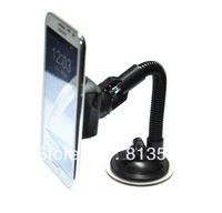 Stand Mini Universal Mount Car Holder for iPhone 5 / iPhone 4,4S //Samsung Galaxy Note2 N7100,S3 i9300