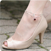Min Order is(mixed) Hot The shiny temptation Korean jewelry noble and Little Swan anklets JL-003