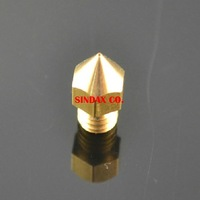 MITAO 2 Pcs/ Lot Free Shipping 3D Printer Makerbot / Reprap / UP Mendal 0.4mm MK8 Nozzle Creator Extruder Drop Shipping