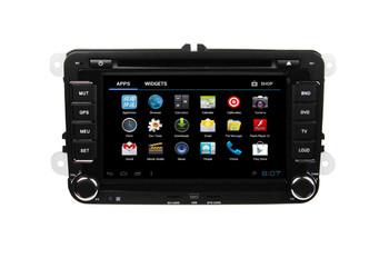 2 Din 7 inch VW and Skoda car radio gps with DVD/Bluetooth/Radio/TV/GPS/3G/wifi/Android ! newly!
