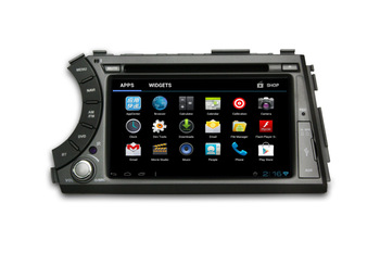 wholesale car dvd player for ssangyong kyron/actyon car radio gps with dvd/cd/bluetooth/ipod/radio/tv/gps/3g/wifi/android!