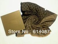 Free Shipping Hot 2013 Women Fashion Brand Stylish Cashmere+Wool Shawls/Designer WinterWarm Scarf/Necklace G001Wholesale/retail
