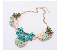A309 Charm fashion water crystal necklace women necklace with free shipping