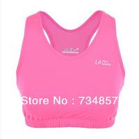 New 2013 Professional Women's Sports Bra Vest underwear without rims running tight underwear large size XS/S/M/L/XL/XXL