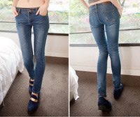 Free Shipping Free Shipping new jeans women,  fashion vintage slim pencil pants jeans women fashion brand 2013, 25~32 JD961LK