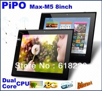 NEW 8 inch PiPo 1024*768  Dualcore cpu1.6GHZ  bulit in 3G wifi HDMI 1G RAM 16 GROM 10point touch IPS sceen android tablet pc