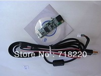 Free shipping  4-wire resistive touch screen panel USB controlle
