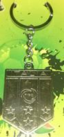 free shipping Italy national football team bronze metal keychain /  retro key ring   2pcs/lot