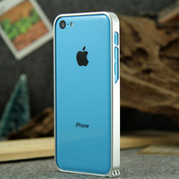 0.7mm Ultra-thin Metal Bumper Aluminum Case For iPhone 5C