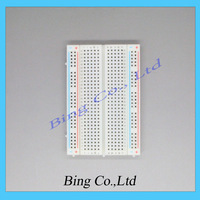 400 Tie Point Interlocking Solderless Breadboard for ATMEGA PIC ArduinoUNO Free Shipping Dropshipping
