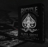 New Arrival Bicycle Poker BLACK GHOST Best Playing Cards Magic Poker Bicycle Drop Shipping