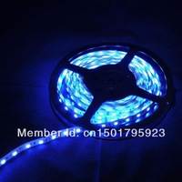 NEW (Waterproof) 5m/lot 3528 5m 300 LEDs SMD Led Strip 60 Led per meter White/Warm white/Blue/Green/Red/Yellow (Free shipping)