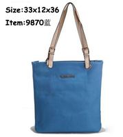 2013 New fashion women fashion handbag simple and easy shoulder bag Free shipping 7color 9870