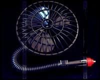 free shipping,Auto supplies electric fan car portable 12v fan wireless 4 inch electric fan air fan HY40K