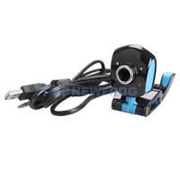T2N2 4 LED USB 2.0 50 Mega Pixels HD Webcam Web Cam with Mic for Laptop Desktop