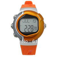 New 2013 Free Shipping Digital Stylish Sporty Pulse Heart Rate Monitor Calories Counter Fitness Women & Men sports Watch