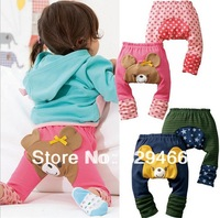 2014 new big ass big PP pants kids pants baby cotton pants cartoon animal models pantyhose spring and autumn free shipping