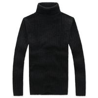 Mrfrak 2013 spring male turtleneck sweater men's slim thickening ultra elastic basic shirt