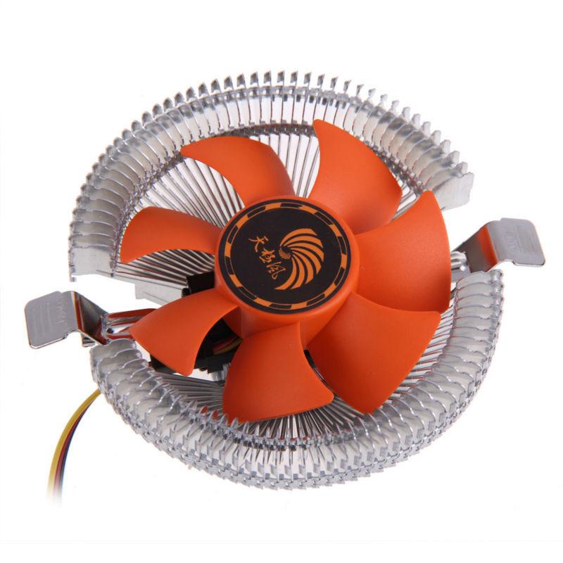 PC CPU Cooler Cooling Fan Heatsink for Intel LGA775 1155 AMD AM2 AM3 754 P4PM(China (Mainland))