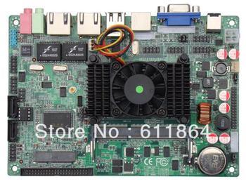 """3.5"""" atom d525 low power motherboard 4 serial industrial motherboard car pc"""