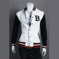Mrfrak jacket men's outerwear personality autumn 2013 spring and autumn thin baseball uniform
