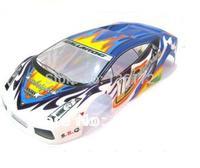 1/10 RC car parts PVC car Body Shell 200mm 022B  BLUE  free shipping