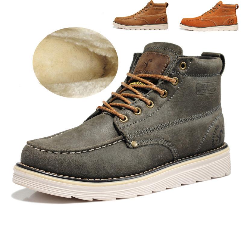 stylish mens waterproof winter boots santa barbara