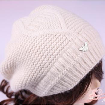 2014 Модный hat Autumn and winter Шерсть rabbit Мех Вязанный female hat Женщины's ...