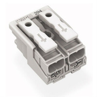 Free Shipping 20 pieces/lot WAGO 294-4002 Wire Wiring Connector For Light 10 Point Conductor Terminal Block *AWG 18-14