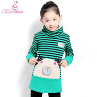 Children's Clothing Female Child Autumn and winter 2013 Basic Shirt Child Long Sleeve t-shirt