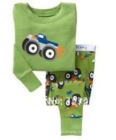 Low price ,top quality Kids Pajama Children Pajamas Cotton baby pyjamas 6sets/lot boys Loungewear sets Free shipping