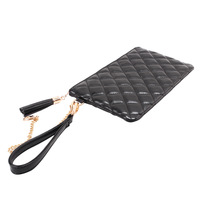 2013 women's handbag plaid small plate clutch long design day clutch mini clutch bag small change small bags