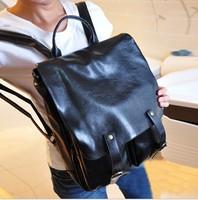2013 winter  korean backpack  PU molle outdoor backpack for women  teenage girls handbags  fashion punk  designer bookbags
